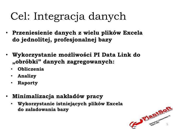 Cel: Integracja danych