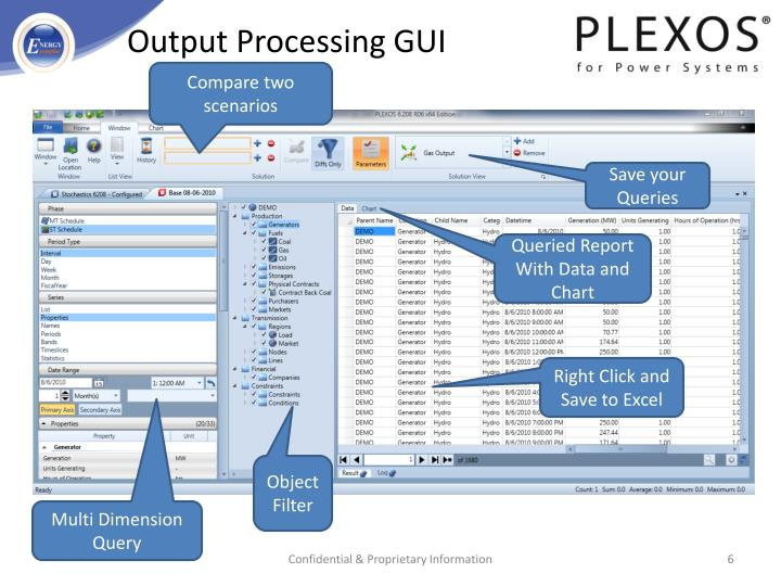 Output Processing GUI