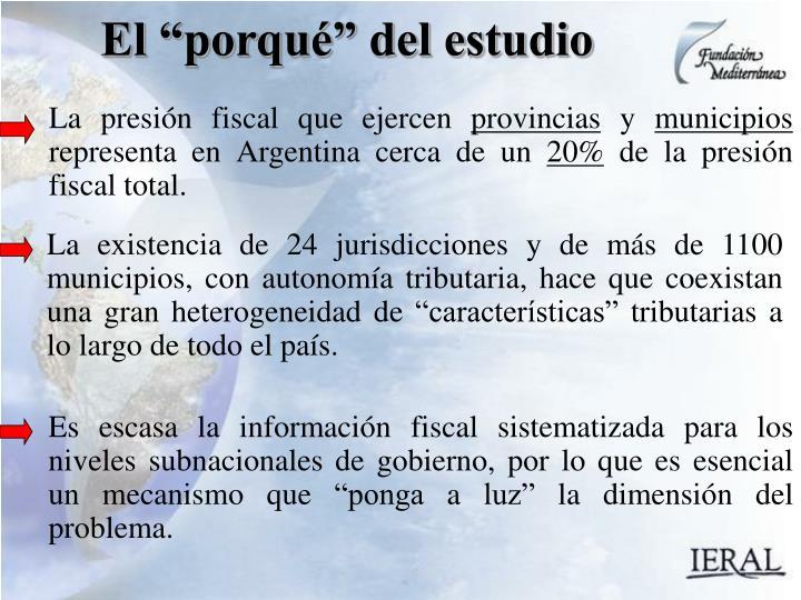 La presión fiscal que ejercen