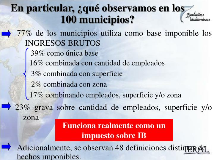 77% de los municipios util