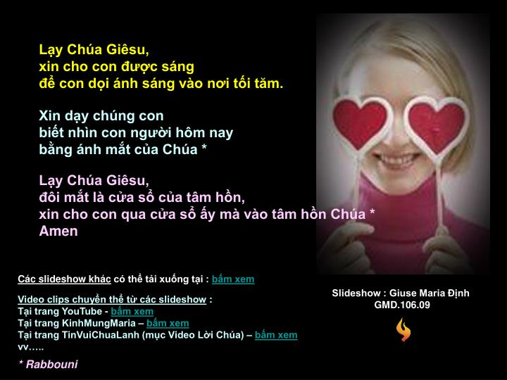Slideshow : Giuse Maria Định