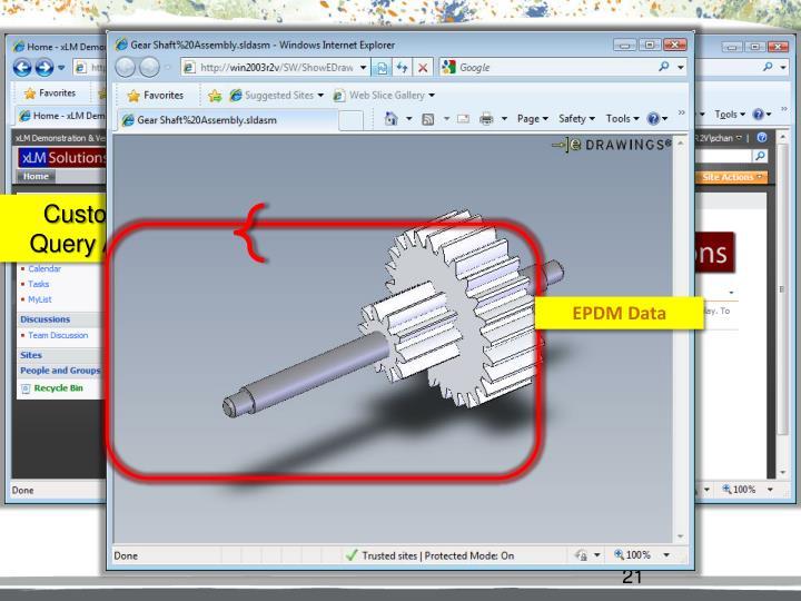 EPDM-SharePoint Integration Web Part