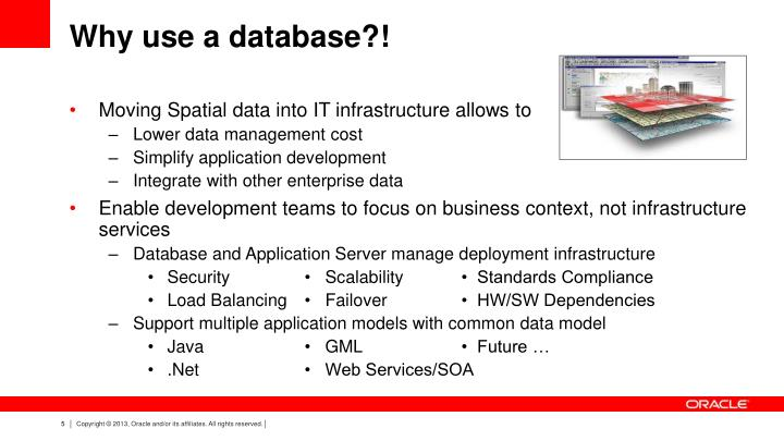 Why use a database?!