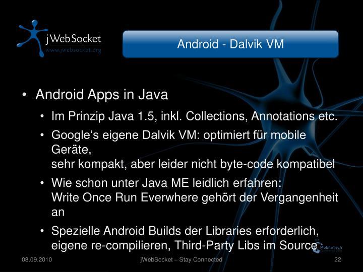 Android - Dalvik VM