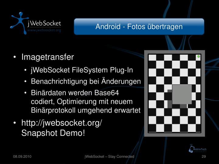 Android - Fotos übertragen