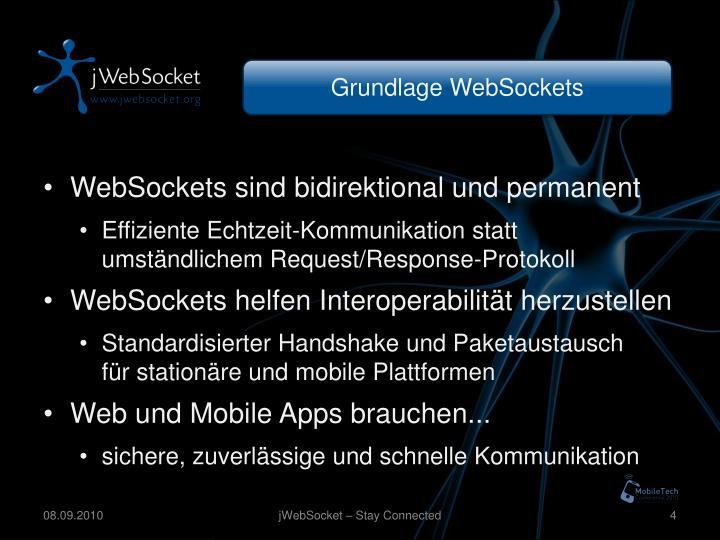 Grundlage WebSockets