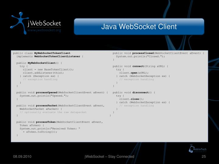 Java WebSocket Client