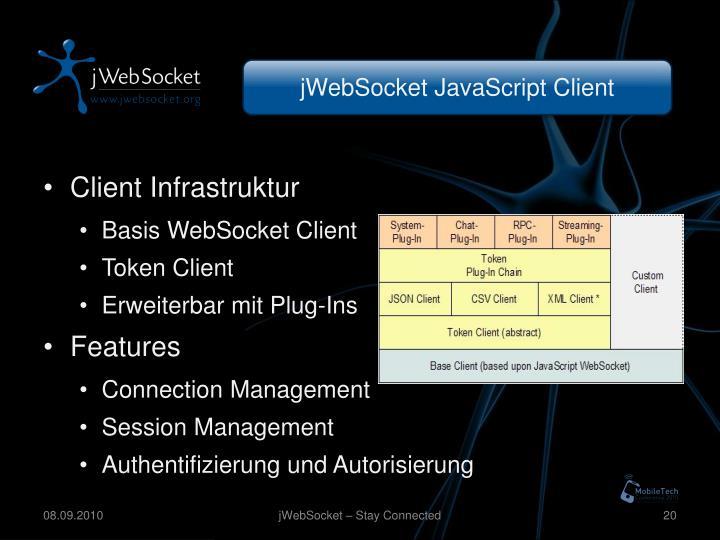 jWebSocket JavaScript Client