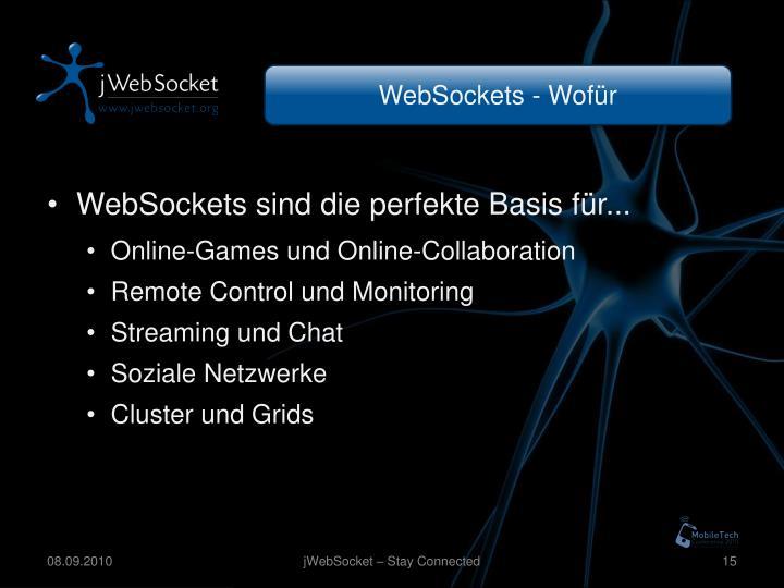 WebSockets - Wofür