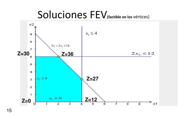 Soluciones FEV
