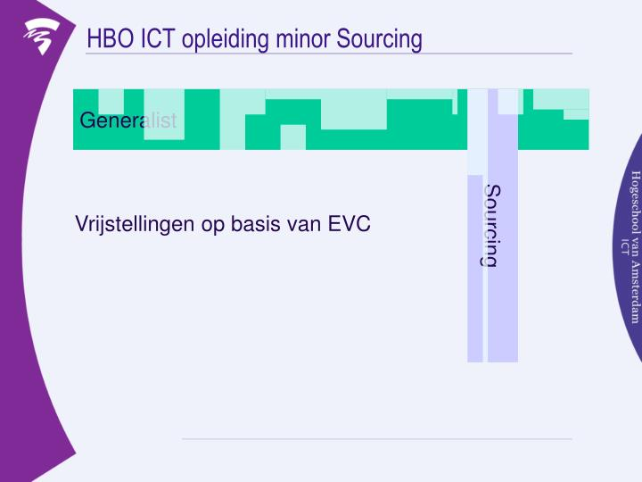 HBO ICT opleiding minor Sourcing
