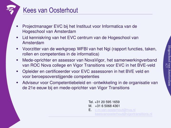 Kees van Oosterhout