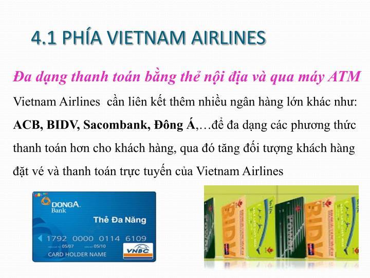 4.1 PHÍA VIETNAM AIRLINES