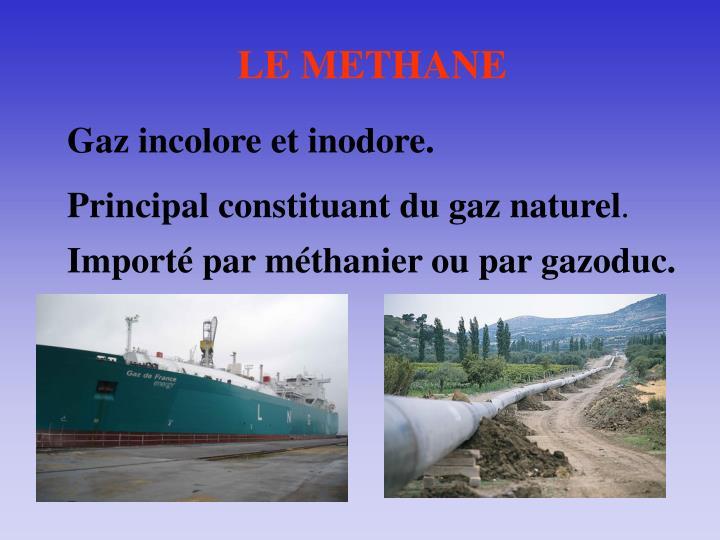 LE METHANE