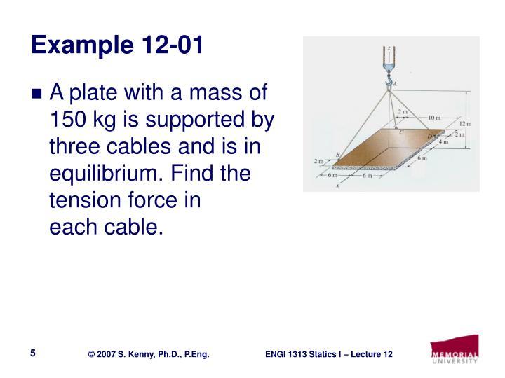 Example 12-01