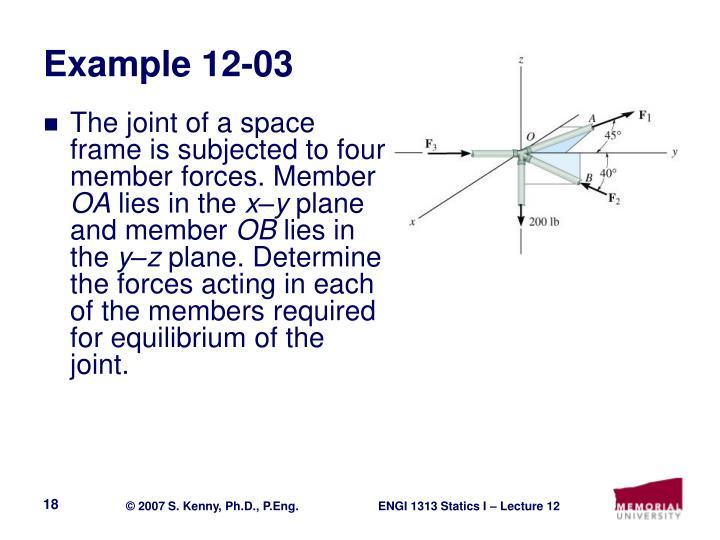 Example 12-03