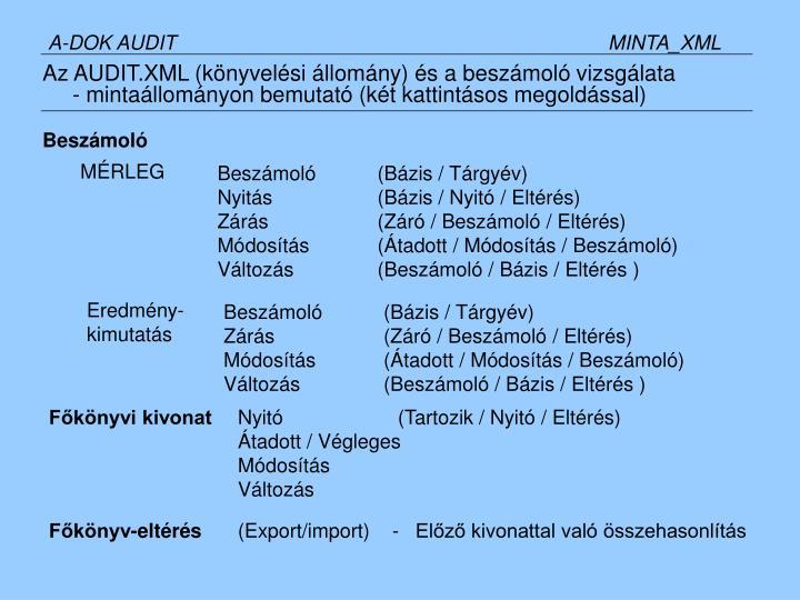A-DOK AUDITMINTA_XML