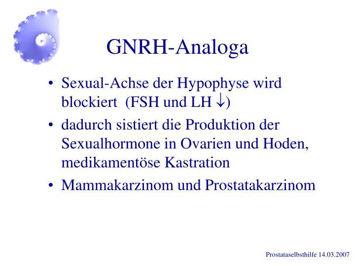 GNRH-Analoga