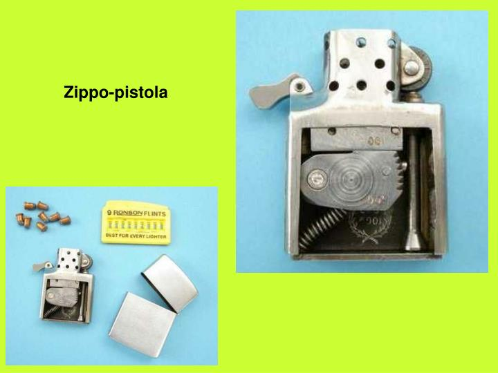 Zippo-pistola