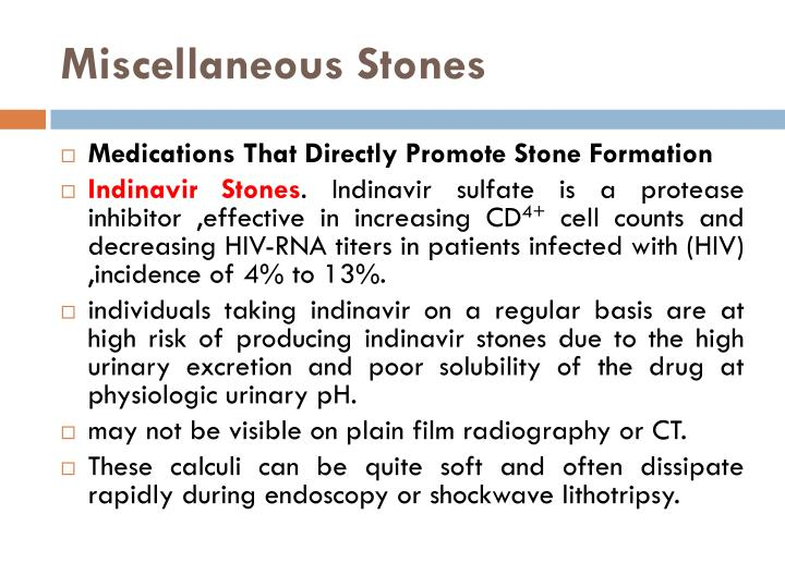 Miscellaneous Stones
