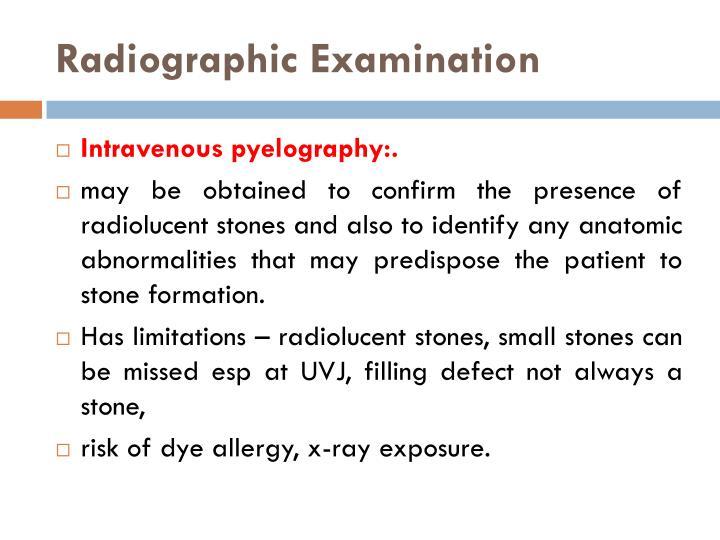 Radiographic
