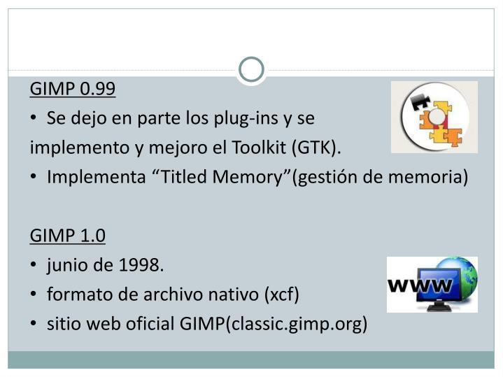 GIMP0.99