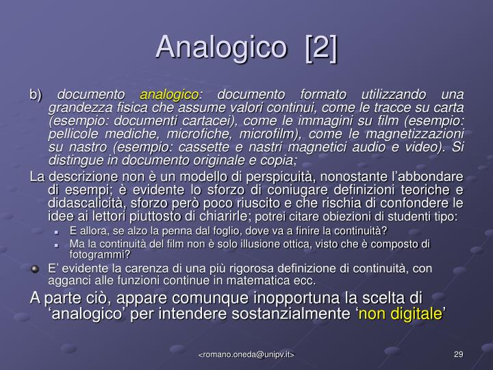 Analogico  [2]
