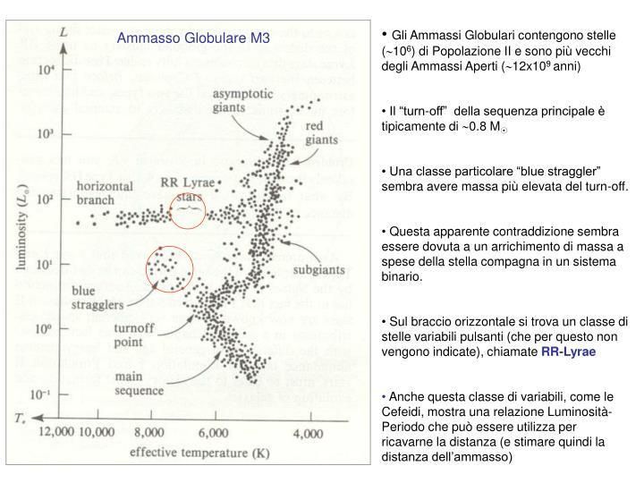 Gli Ammassi Globulari contengono stelle (