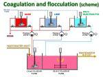 coagulation and flocculation scheme