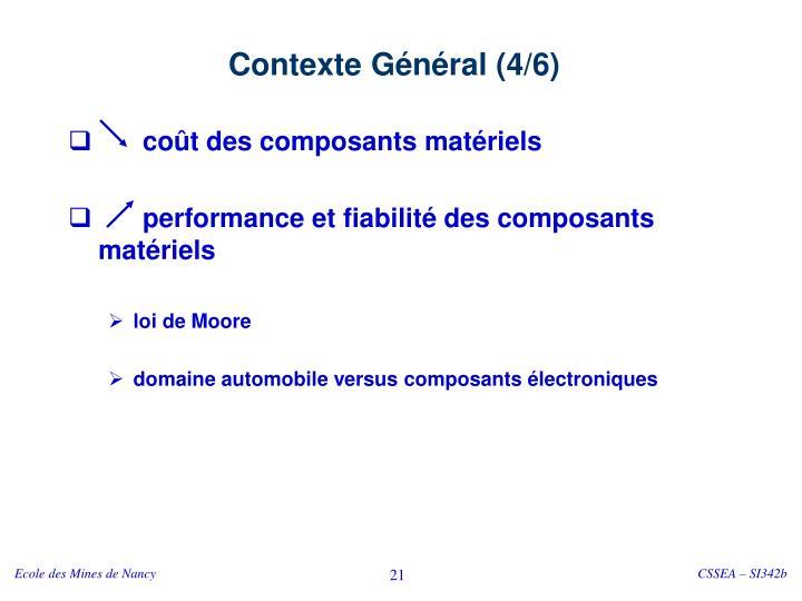 Contexte Général (4/6)