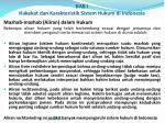 bab i hakekat dan karakteristik sistem hukum di indonesia1