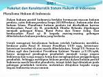 bab i hakekat dan karakteristik sistem hukum di indonesia3