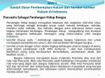 bab ii kaidah dasar pembentukan hukum dan sumber sumber hukum di indonesia