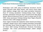 bab ii kaidah dasar pembentukan hukum dan sumber sumber hukum di indonesia3