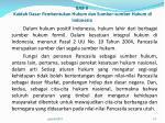 bab ii kaidah dasar pembentukan hukum dan sumber sumber hukum di indonesia7