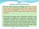 bab v substansi hukum positif indonesia1