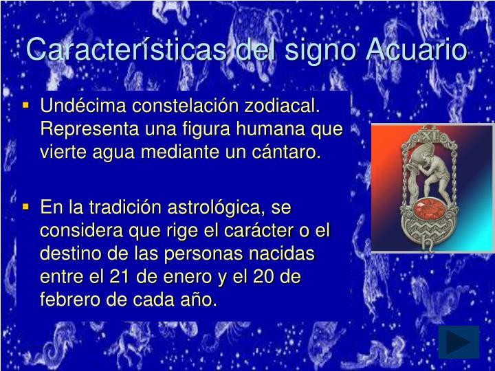 Características del signo Acuario