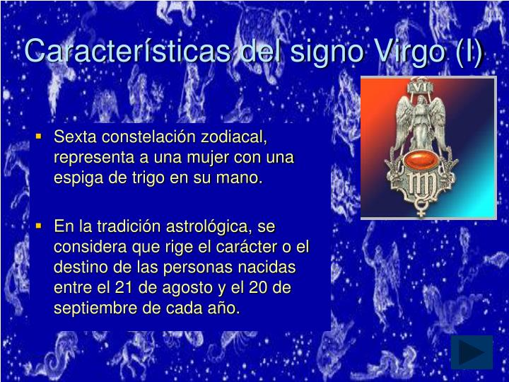 Características del signo Virgo (I)