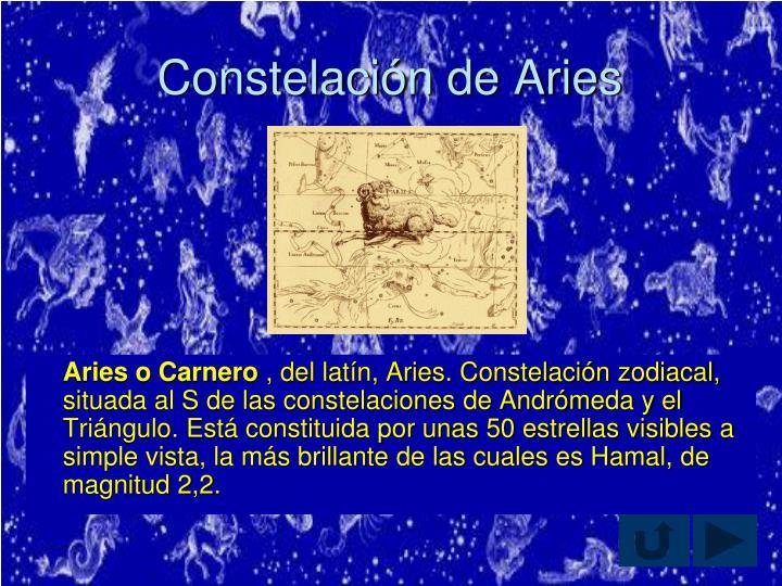 Constelación de Aries