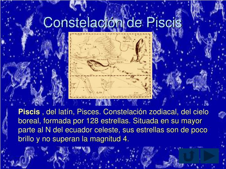 Constelación de Piscis