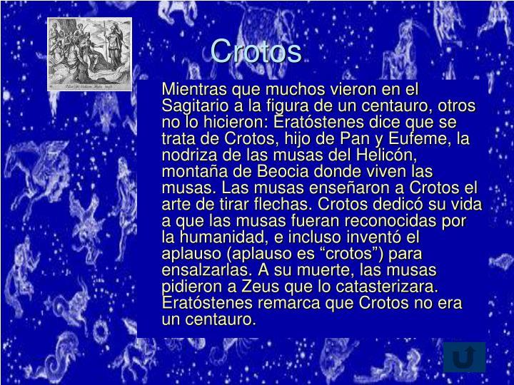Crotos