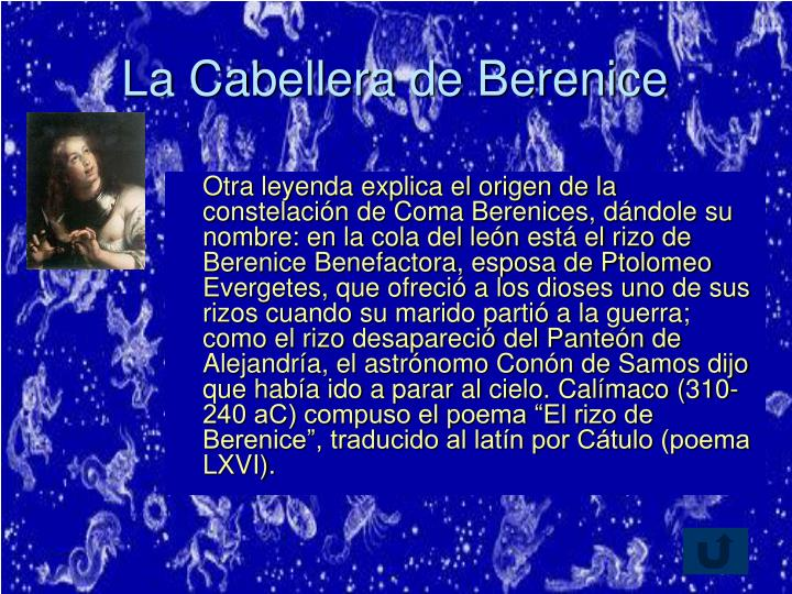 La Cabellera de Berenice