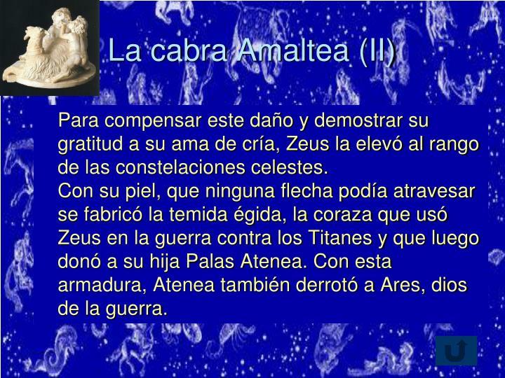 La cabra Amaltea (II)