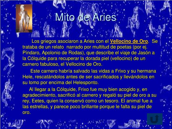 Mito de Aries