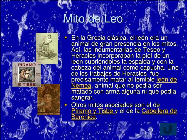 Mito de Leo