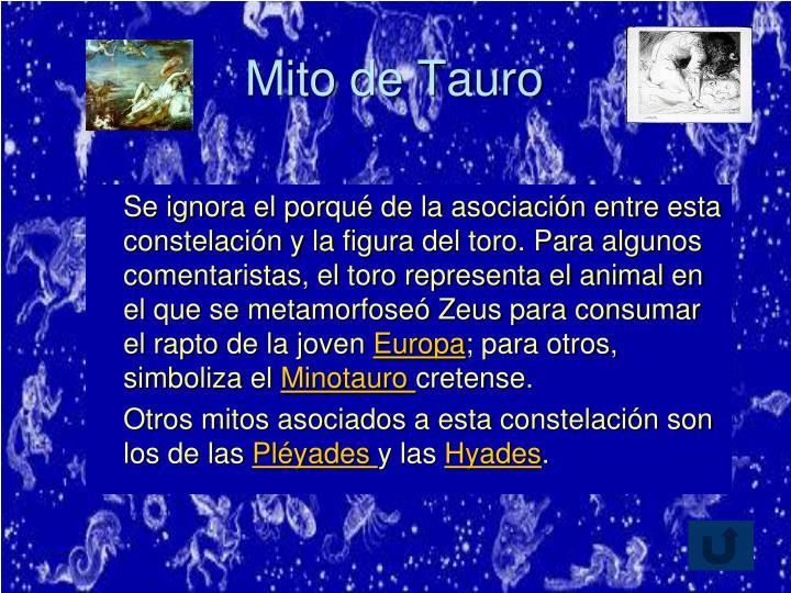 Mito de Tauro