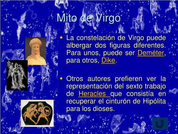 Mito de Virgo