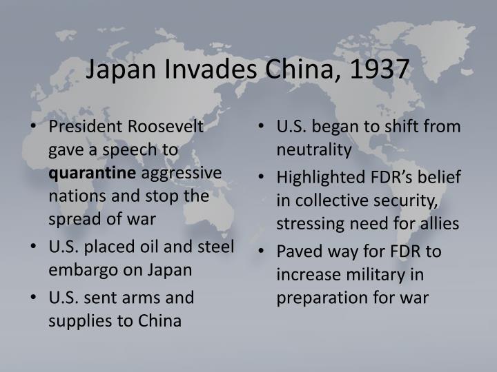 Japan Invades China, 1937
