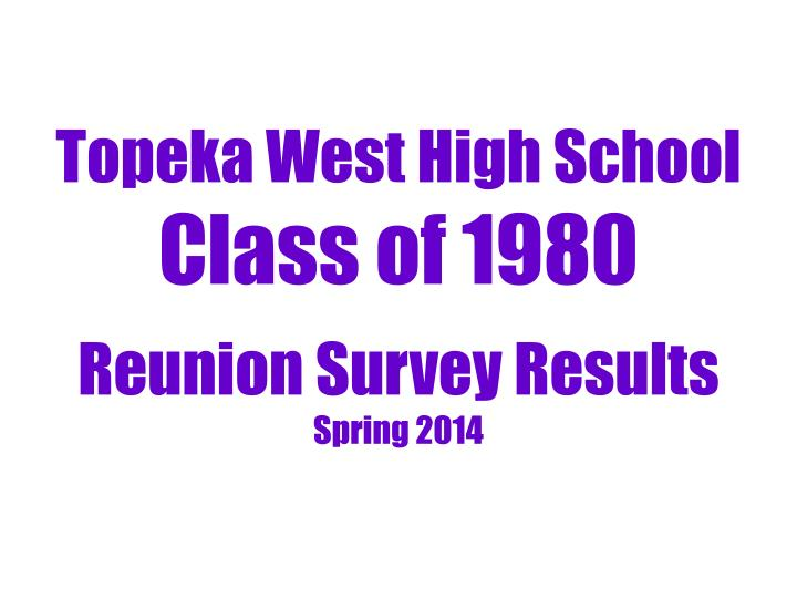 Topeka West High School