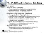 the world bank development data group1
